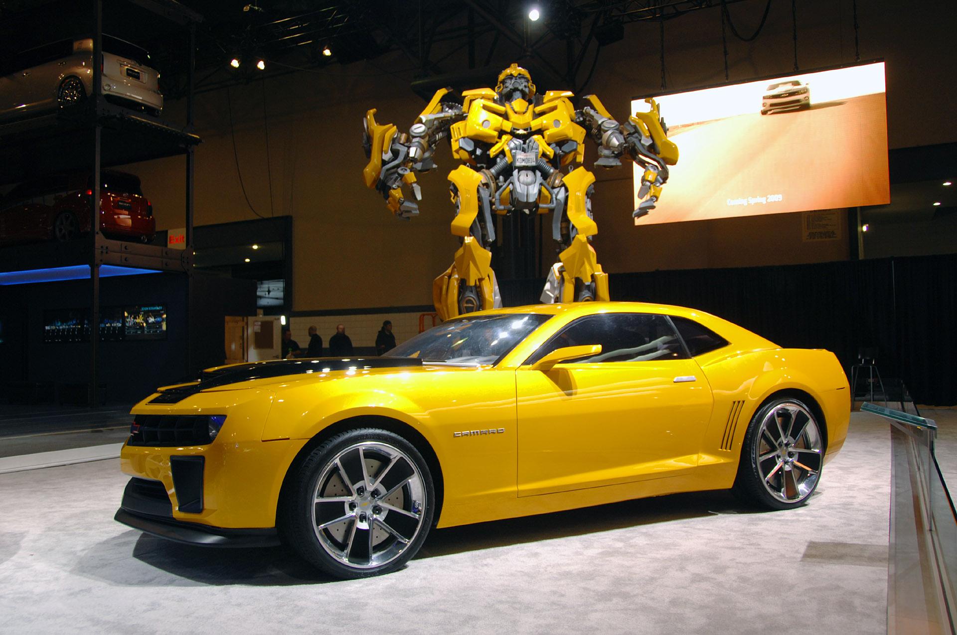 Brinquedo para gente grande chevrolet camaro transformers - Transformers bumblebee car wallpaper ...